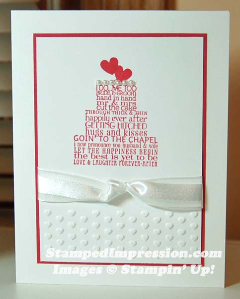Card For Renewing Marriage Vows