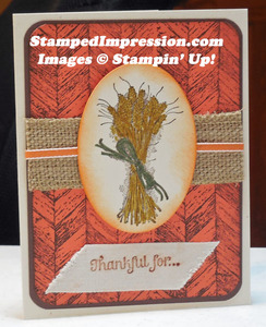 Thanksgiving card that shows you're truly grateful!