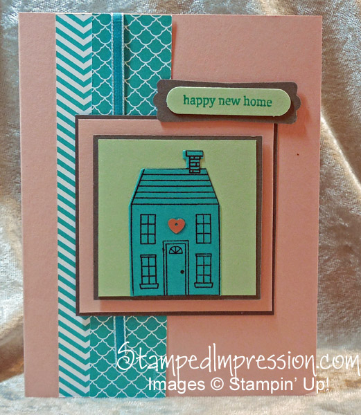 Celebrate a New Home http://stampedimpression.com