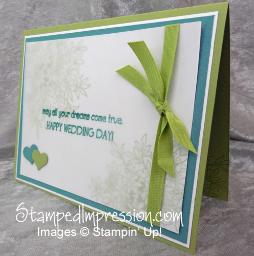 An Awesomely Artistic Card - http://www.stampedimpression.com