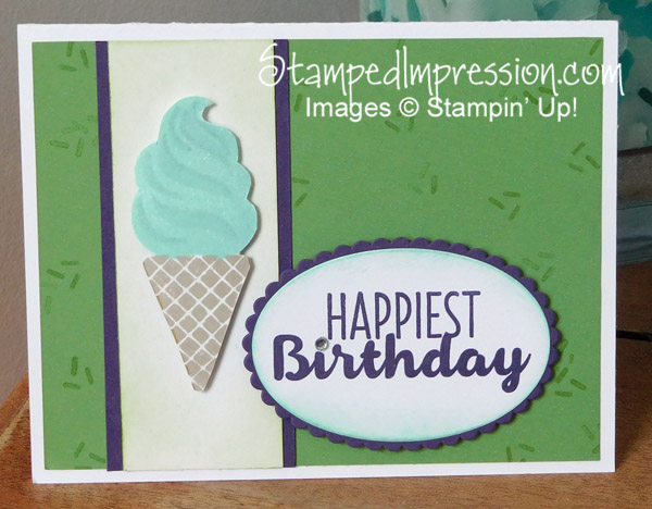 Sneak Peek Surprise with Cool Treats- http://stampedimpression.com